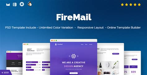 responsive email template builder firemail responsive email template builder