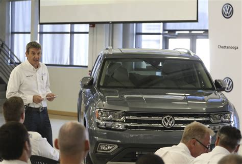 volkswagen chattanooga officials say chattanooga made suv will be exported to