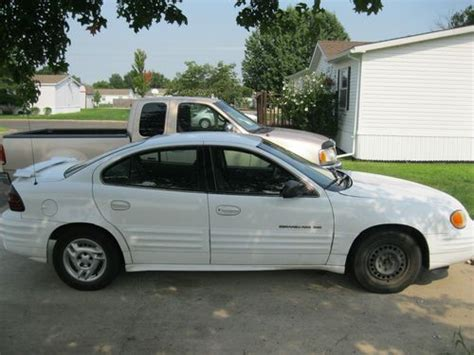 how to fix cars 2001 pontiac grand am electronic toll collection buy used 2001 pontiac grand am se sedan 4 door 2 4l in gardner kansas united states for us