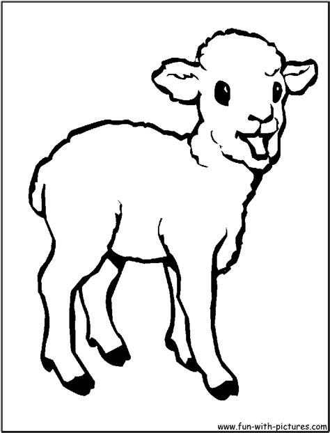 cute lamb coloring pages coloring baby animals coloring pages