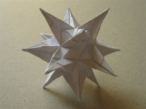 Origami David Brill - spiky david brill happy folding
