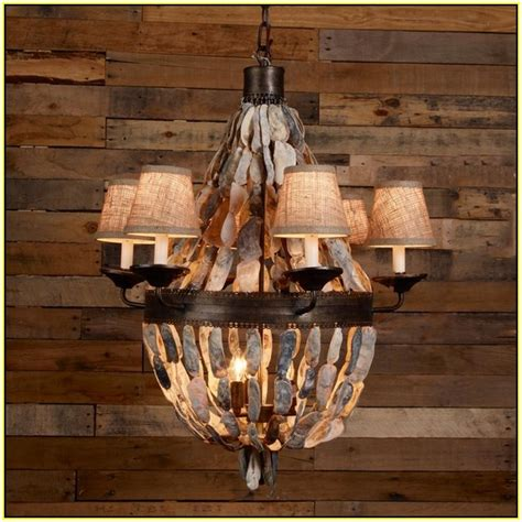 oyster chandelier oyster shell chandelier ideas homesfeed