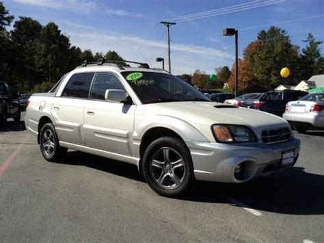 auto air conditioning service 2004 subaru baja electronic valve timing sell used 2004 subaru baja turbo white awd one owner clean carfax in norwich vermont