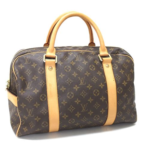authentic louis vuitton monogram carryall hand bag duffle