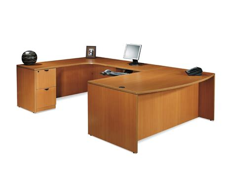 Realspace Broadstreet Contoured U Shaped Desk Realspace U Shaped Desk Desk Design Best U Shape Desk Office