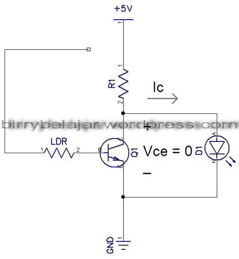 cara menggunakan transistor sebagai saklar elektronik transistor sebagai saklar dengan menggunakan ldr sebagai sensor cahaya 28 images cara