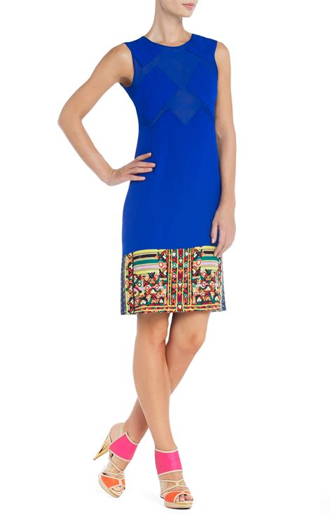 Dress Ayla By Cadee Collection bcbgmaxazria runway ayla sleeveless dress in multicolor