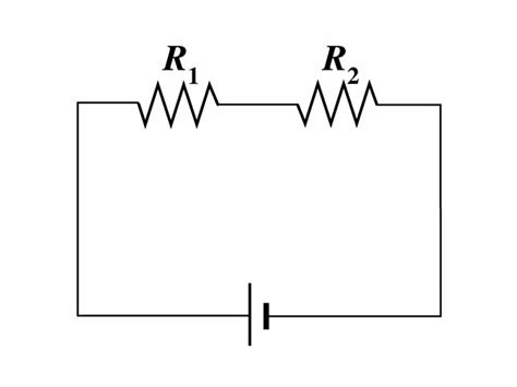 two resistors are connected in series with a battery 2 resistors in series 28 images electric circuit analysis resistors in series wikiversity