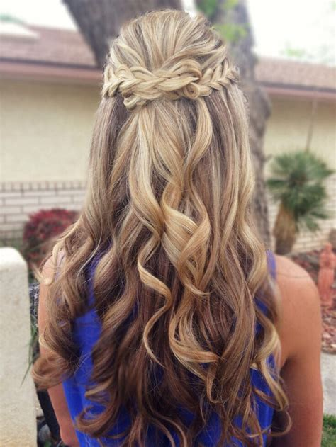 hairstyles for homecoming 15 latest half up half down wedding hairstyles for trendy