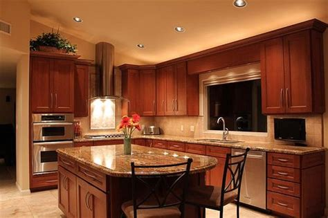 cherry wood cabinets paint color for the home