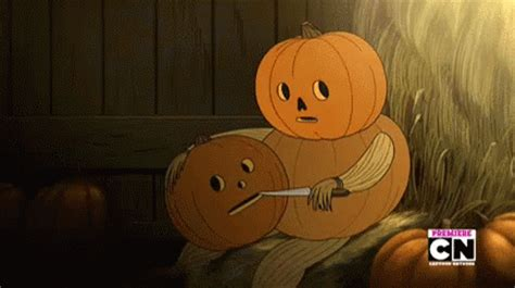 pumpkin gif getting doing something you didn t want anyone to