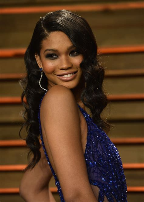 chanel iman star sign chanel iman best beauty looks from the oscars 2014 after
