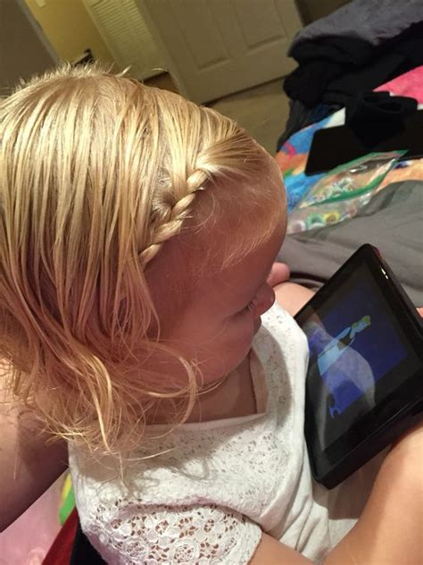 hairstyles to do the night before quick hairstyle for school on little girls this is great