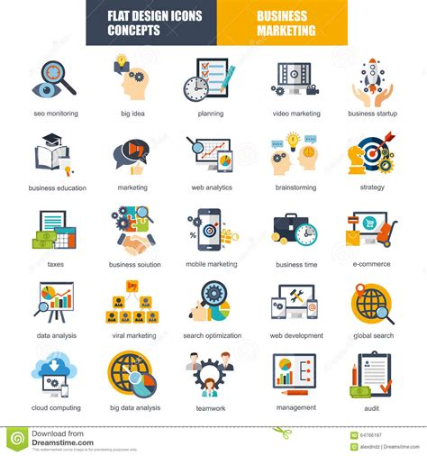 design analysis icon design services icon set set of flat design icons concept for marketing and