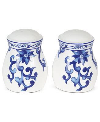 ralph dinnerware mandarin blue salt and