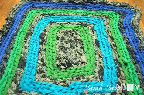 how to crochet rag rugs crochet denim rag rug roselawnlutheran