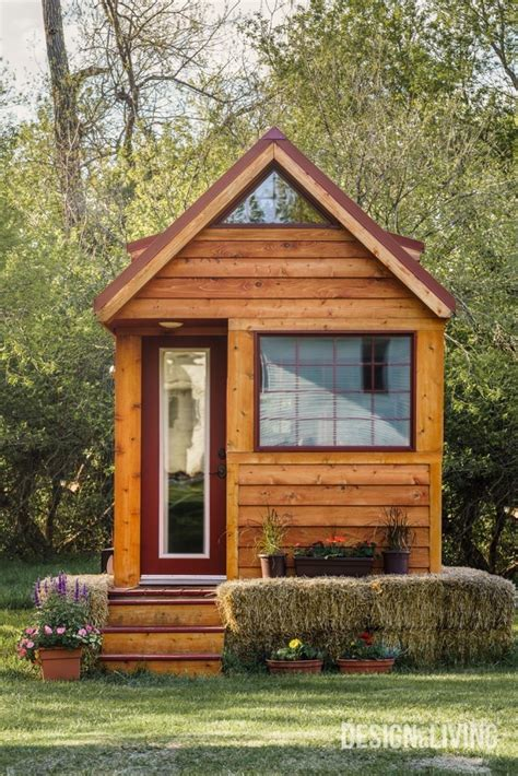 tiny house living tuesday s tiny house tour home tour of a tiny house in the country design and