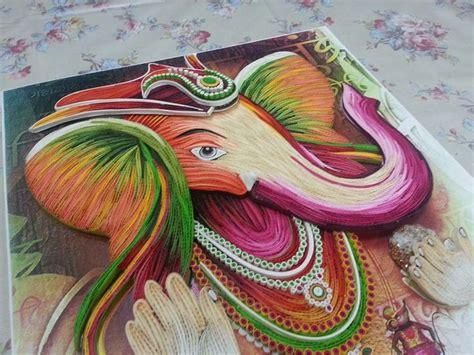 Quilling Ganesha Tutorial | quilled ganesha quilling creations pinterest ganesha