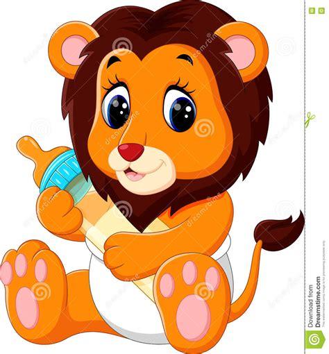 imagenes de leones animados bebes desenhos animados bonitos do le 227 o do beb 234 ilustra 231 227 o do
