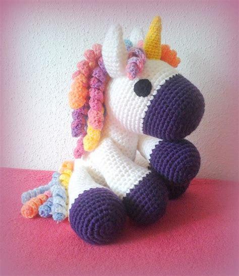 amigurumi xxl pattern crochet unicornio xxl por crochetlandrv en etsy amigu