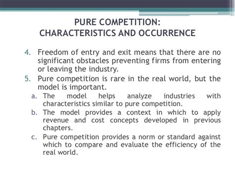 4 1 Markets And Competition Mba by Chapter 23 Competition