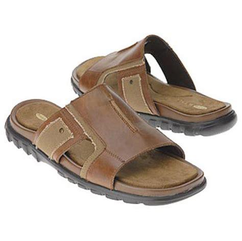 dr scholls mens sandals dr scholl s s miami sandals brwon leather shoes