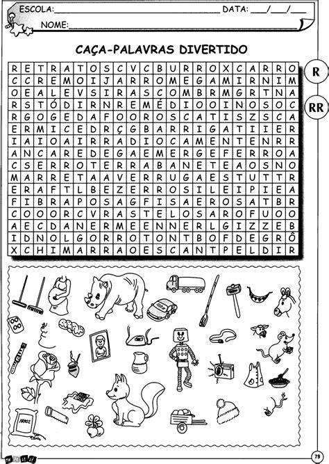 Atividades com R e RR para alfabetização - Atividades