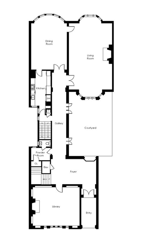 san francisco mansion floor plans