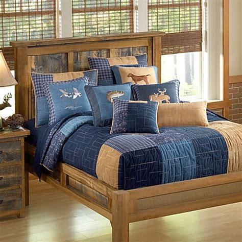 donna sharp bedding donna sharp denim square quilt bed bath beyond