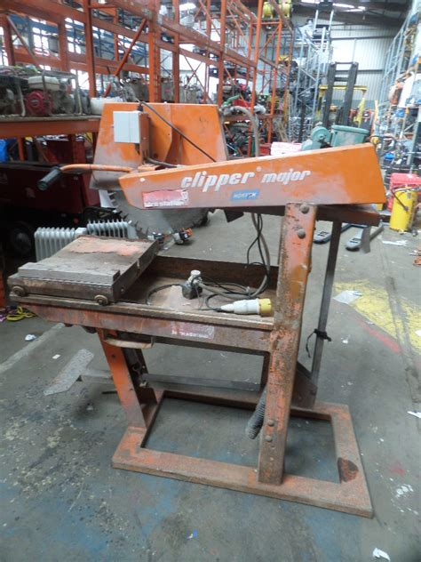masonry saw bench norton clipper major edw 027606 masonry saw bench