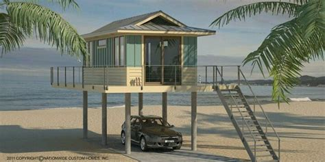 micro beach tiny beach house waterfront pinterest beach houses