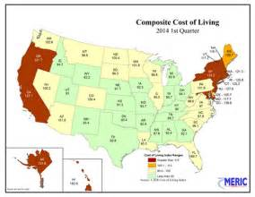 cost of living 2014 annual average