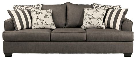 Upholstery Cushions For Sofa by Sofa With Scatterback Pillows And Plush Coil Seat Cushions
