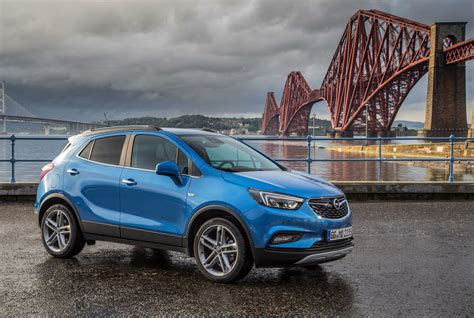 opel blue blue opel mokka at the bridge wallpapers and images