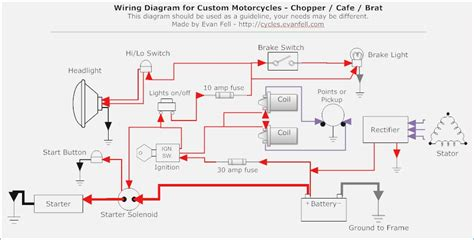 simple motorcycle turn signal wiring diagram wiring
