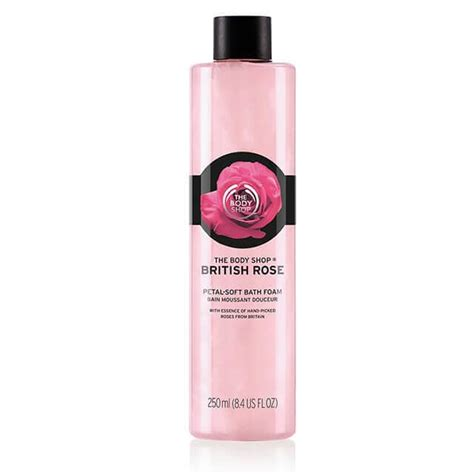 bathtub foam british rose petal soft bath foam