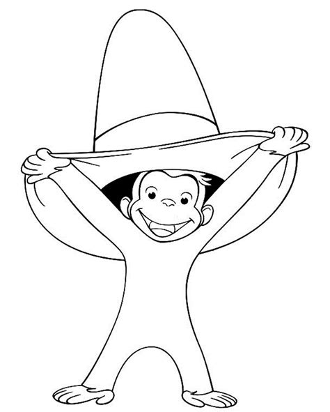 Printable Curious George Coloring Pages Bestofcoloring Com George Coloring Pages
