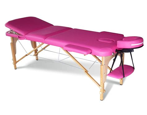 beauty couch pink portable massage table bed beauty therapy couch 3