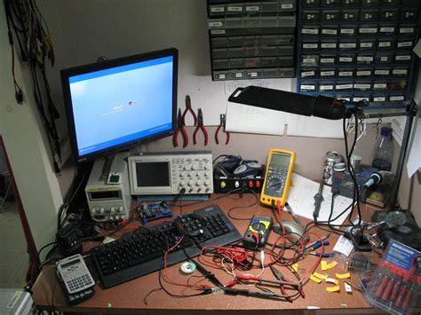 electronics workbench  work  progress  electronics