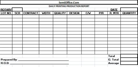 monthly production report template photo monthly work report template images