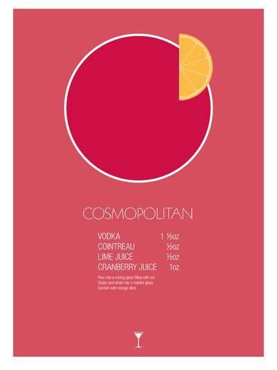 cosmopolitan drink quotes cosmopolitan cocktail recipe poster imperial by jazzy
