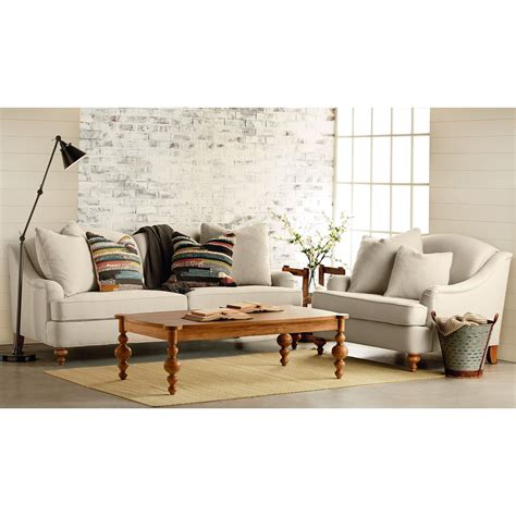 magnolia home tailor sofa magnolia home by joanna gaines adore living room group