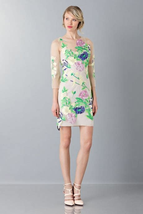 vestito con fiori vestito a fiori corto