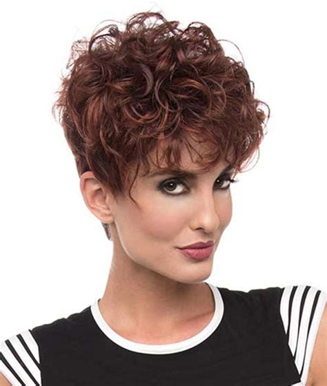 very fine short permed hair styles short curly hair pics to help you create a new look
