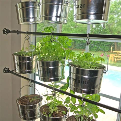 Hanging Herbs In Kitchen Window by Hanging Kitchen Herb Garden Gardens Herbs Garden And