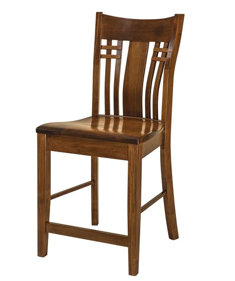amish built kitchen chairs f n amish chairs stationary counter height stool