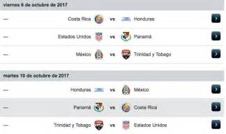 Calendario Concacaf El Calendario Hexagonal De Concacaf