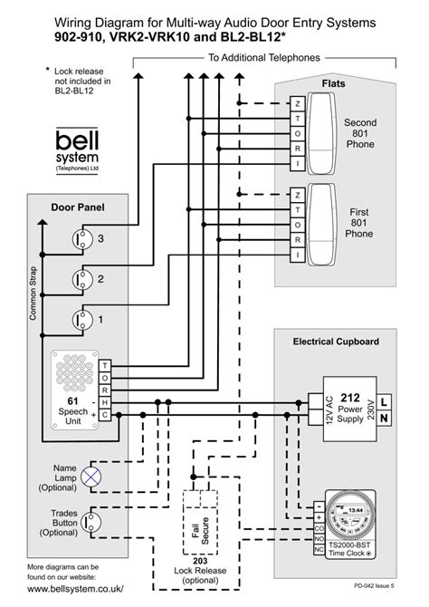 bell systems wiring diagram door entry wiring diagrams
