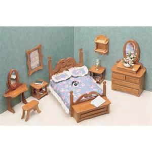 greenleaf bedroom furniture kit set 1 inch scale