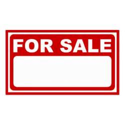 Sale Sign Template by Blank For Sale Sign Zazzle